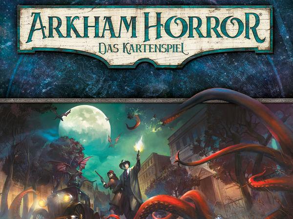 Bild zu Frühjahrs-Neuheiten-Spiel Arkham Horror: Das Kartenspiel