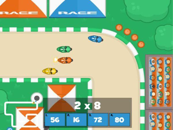 Bild zu HTML5-Spiel Mathe Rallye - Schnelles Köpfchen