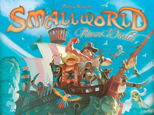 Bild zu Frühjahrs-Neuheiten-Spiel Small World: River World