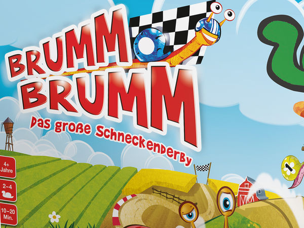 Bild zu Frühjahrs-Neuheiten-Spiel Brumm Brumm: Das große Schneckenrennen