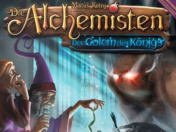 Bild zu Frühjahrs-Neuheiten-Spiel Die Alchemisten: Der Golem des Königs