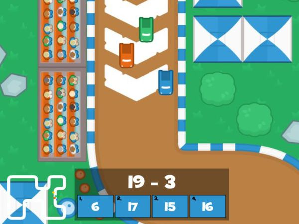 Bild zu HTML5-Spiel Mathe Grand Prix - Mathe bis 20
