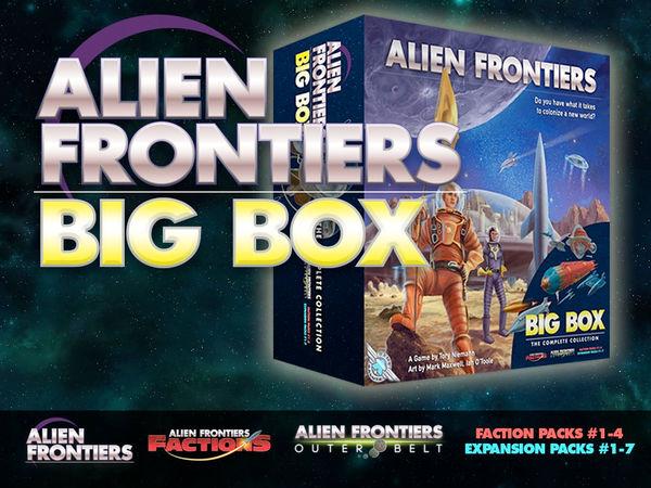 Bild zu Frühjahrs-Neuheiten-Spiel Alien Frontiers Big Box