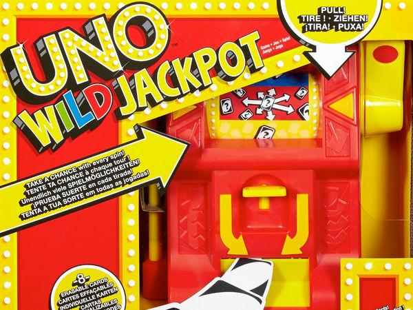 Bild zu Alle Brettspiele-Spiel Uno Wild Jackpot