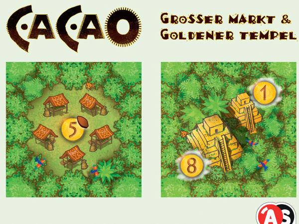 Bild zu Frühjahrs-Neuheiten-Spiel Cacao: Großer Markt & Goldener Tempel