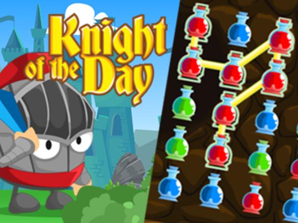 Bild zu HTML5-Spiel Knight of the day