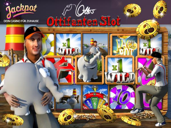 Bild zu Jackpot-Spiel Ottifanten Slot