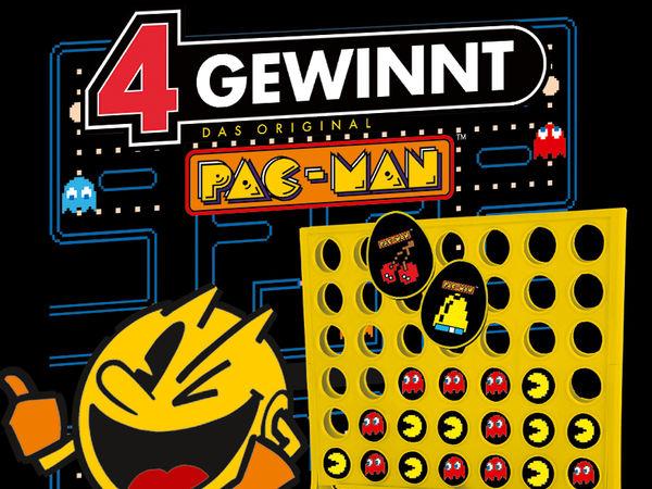 Bild zu Frühjahrs-Neuheiten-Spiel 4 Gewinnt Pac-Man