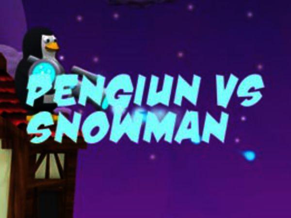 Bild zu HTML5-Spiel Penguin vs Snowman
