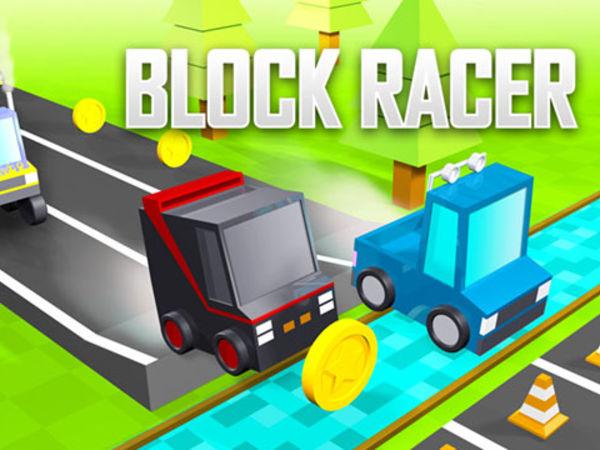 Bild zu Rennen-Spiel Block Racer