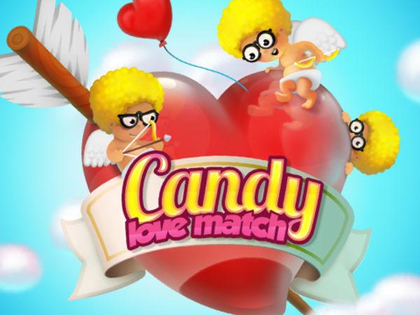 Bild zu Denken-Spiel Candy Love Match