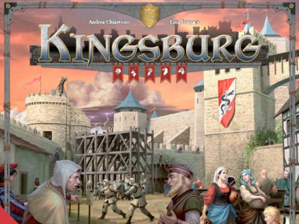 Bild zu Frühjahrs-Neuheiten-Spiel Kingsburg 2. Edition