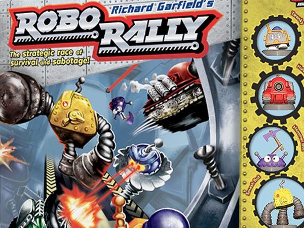 Bild zu Frühjahrs-Neuheiten-Spiel Robo Rally - Neuauflage