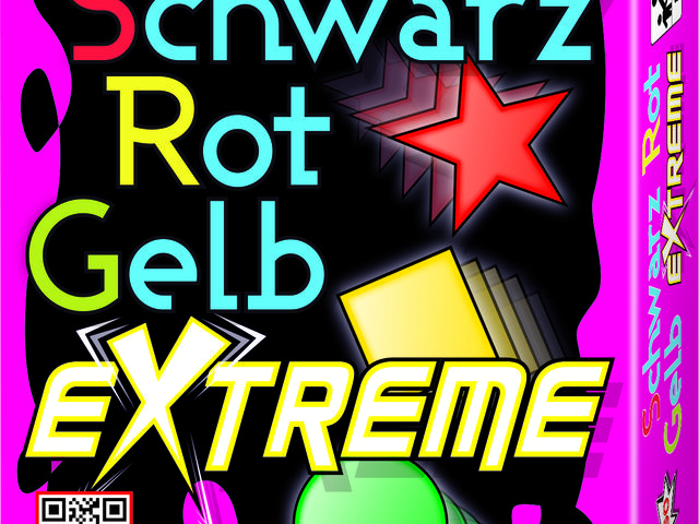 Schwarz Rot Gelb Extreme Bild 1