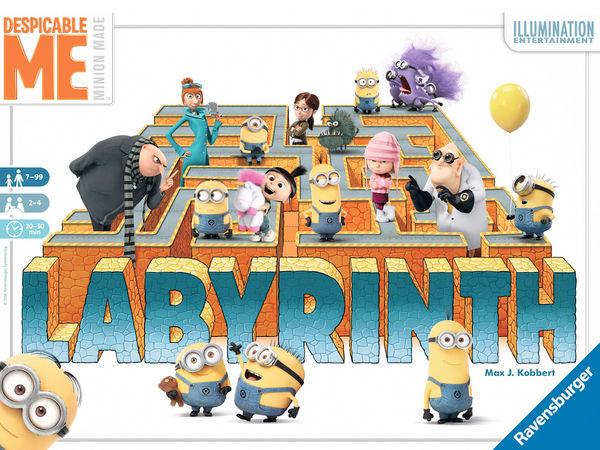 Bild zu Frühjahrs-Neuheiten-Spiel Ich - Einfach unverbesserlich: Labyrinth