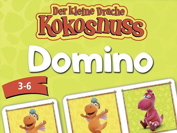 Bild zu Frühjahrs-Neuheiten-Spiel Der kleine Drache Kokosnuss - Domino