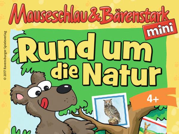 Bild zu Frühjahrs-Neuheiten-Spiel Mauseschlau & Bärenstark - Rund um die Natur