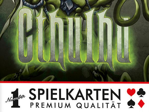 Bild zu Frühjahrs-Neuheiten-Spiel Number 1 Spielkarten: Cthulhu