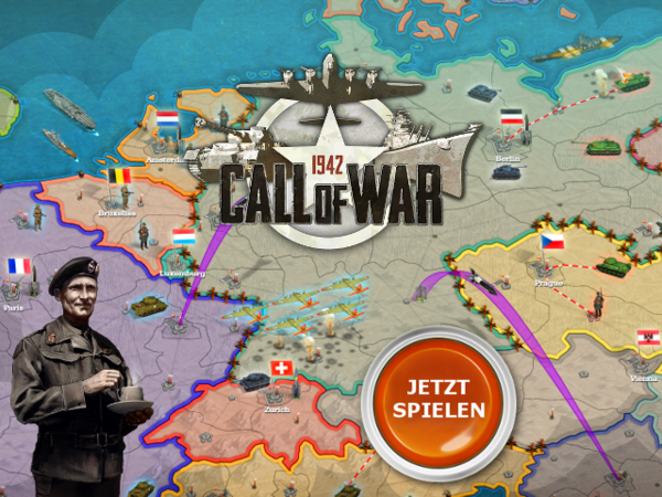 Bild zu Strategie-Spiel Call of War