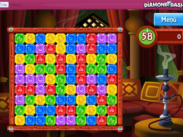 Diamond Dash Screenshot 1