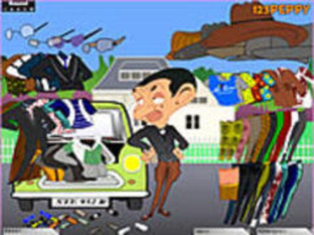 Mr Bean Dressup Game