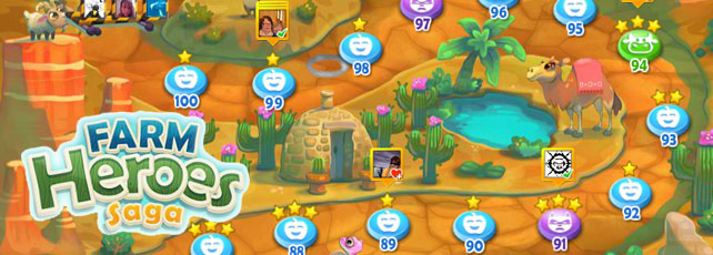 Farm Heroes Saga Tipps Level 91 bis 100