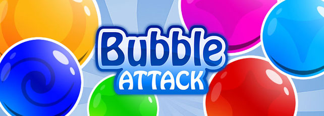 Bubble Attack spielen Titel