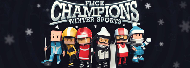 Flick Champions Winter Sports spielen Titel