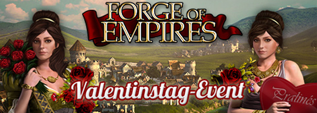 Forge of Empires Valentinstag Titel
