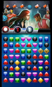 Marvel puzzle quest dark reign screenshot