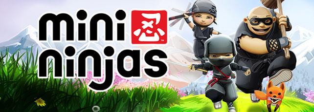 Mini Ninjas spielen Titel