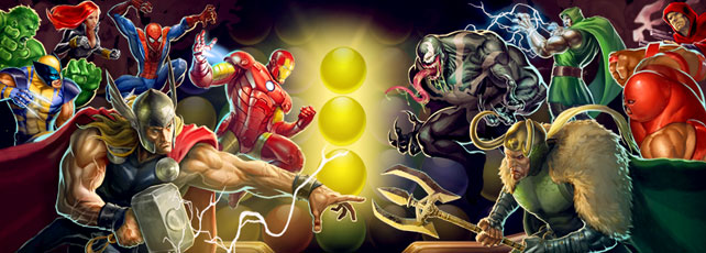Marvel Puzzle Quest Dark Reign Titel