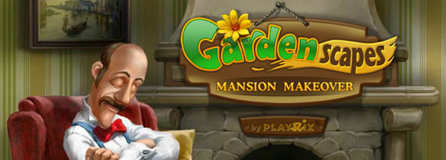 Gardenscapes: Mansion Makeover Titel