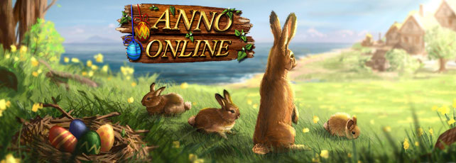 Anno Online Oster-Event Titel
