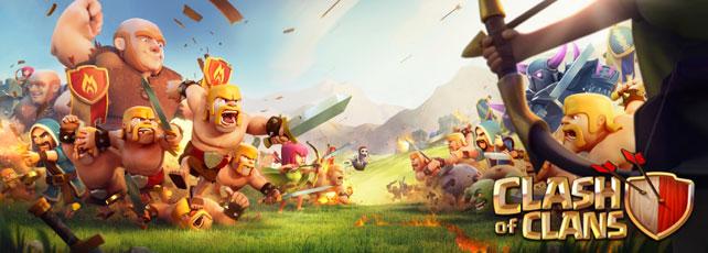 Clash of Clans Clan-Kriege Titel