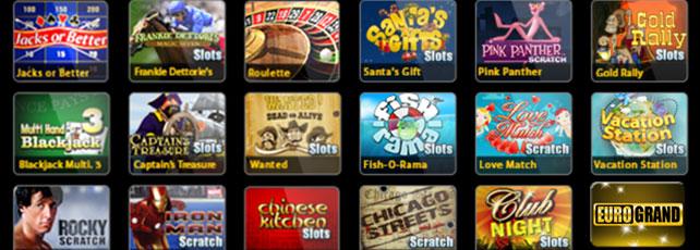 Eurogrand Casino App Titel