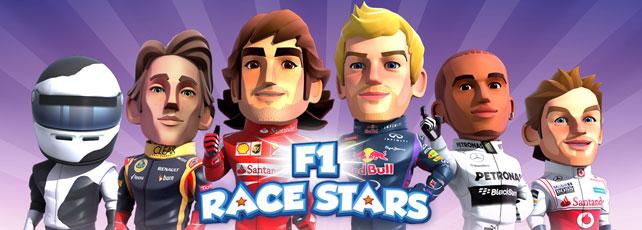 F1 Race Stars App spielen Titel