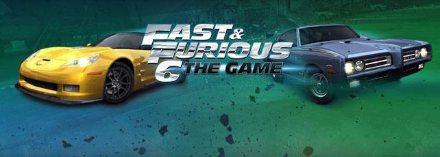 Fast & Furious 6 App Titel