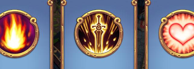 Royal Revolt 2 Zauber und Schriftrollen