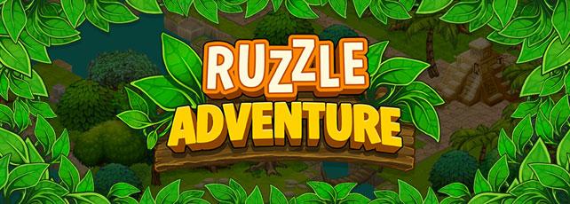 Ruzzle Adventure spielen Titel