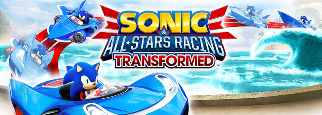 Sonic & All-Star Racing Transformed spielen Titel