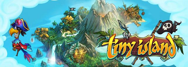 Tiny Island spielen Titel