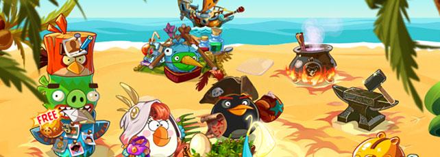 Angry Birds Epic Waffen und Tränke Titel