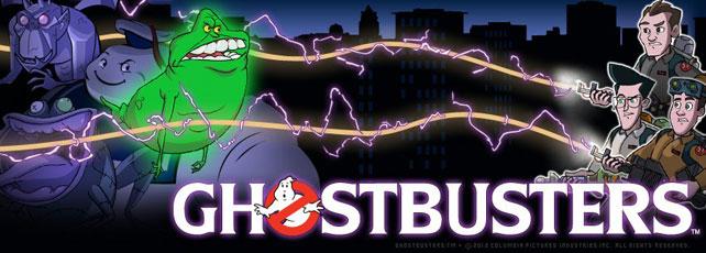 Ghostbusters App Titel