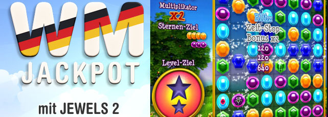 Jewels 2 WM-Jackpot Titel