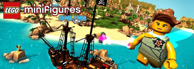 Lego Minifigures Online spielen Titel