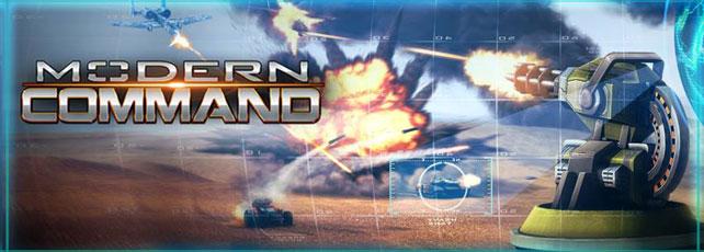 Modern Command spielen Titel