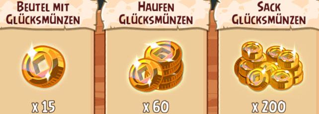 Angry Birds Epic Glücksmünzen Titel