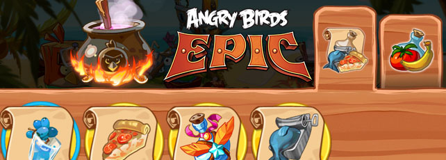 Angry Birds Epic Tränke Titel
