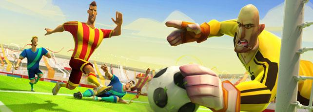 Disney Bola Soccer spielen Titel
